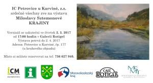 pozvánka Miloslava Sztemonová