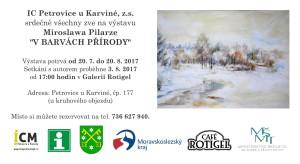 pozvánka Pilarz