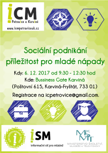 sociální podnikání pozvánka