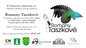 pozvánka Romana Taszková Petrovice