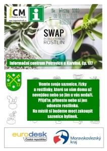 swap pokojových rostlin